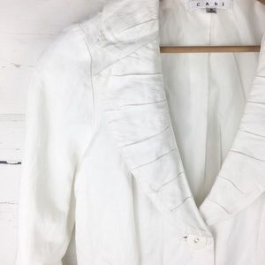 CAbi Artist Coat White Spring